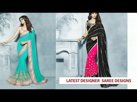Buy Online Dress - MODERN BEAUTIFUL AND TRENDY DESIGNER HALF N HALF SAREE WITH HEAVY WORK COLLECTION
