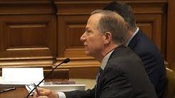 Missouri Sen. Bob Onder Presents Senate Bill 381 in Committee