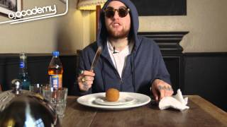 Mac Miller Eats Eels, Scotch Egg and Monster Munch... And Doesn