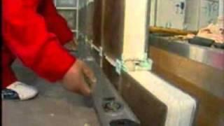 Монтаж стеклоблоков  видео stekloblock(, 2011-04-09T20:07:31.000Z)