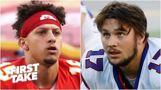Patrick Mahomes vs. Josh Allen: Is this a bigger game for the Chiefs or Bills? | First Take