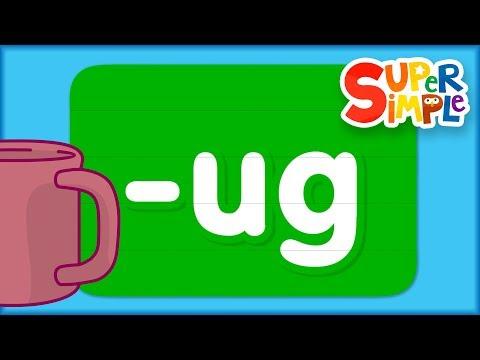 """learn-the-alphabet---word-family-""""ug"""""""