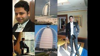 Burj al arab fireworks#1st vlog#Happy new year#7 Star Hotel#Most luxurious hotel in the world