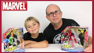 Marvel Super Hero Mashers - Ghost Rider and DEADPOOL Review