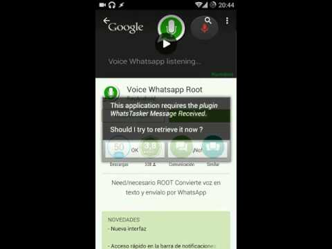 Install Voice Whatsapp Root
