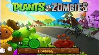 Зомби против Растений - #1 Зомби объявили Войну! Игра как мультик, детское видео, let's play.