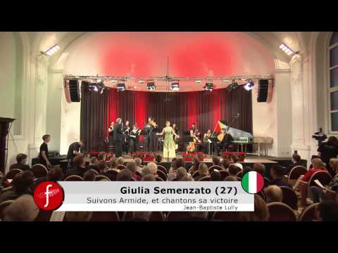 Cesti 2014 Final  Giulia Semenzato   Armide Lully