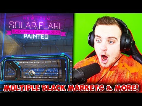 So I did an ASMR crate opening in Rocket League and the luck was INSANE! thumbnail