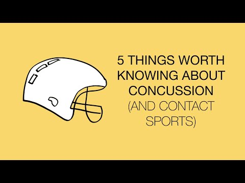 Five things you should know about concussion and contact sports