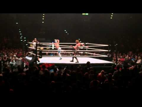 WWE Zurich 2015 - 4-man Tag Team Match