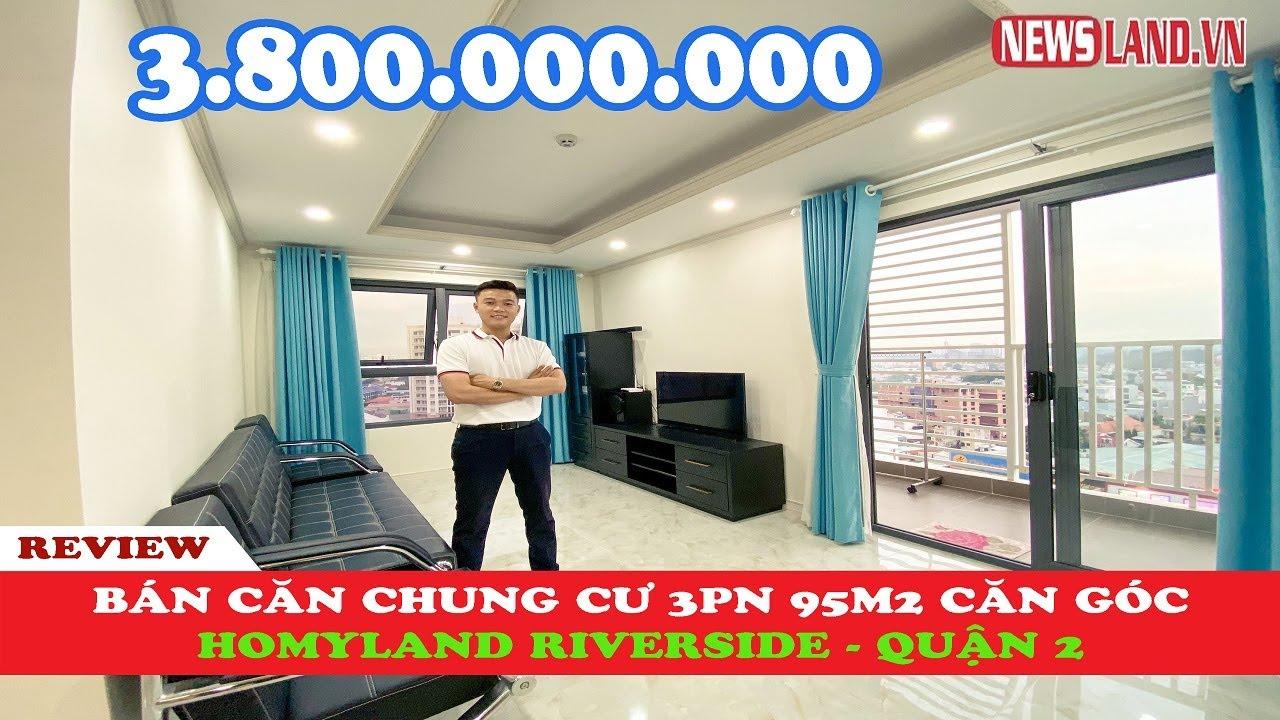 ✅ Bán căn góc 3 phòng ngủ tại chung cư Homyland 3 (riverside) quận 2 I Newsland.vn