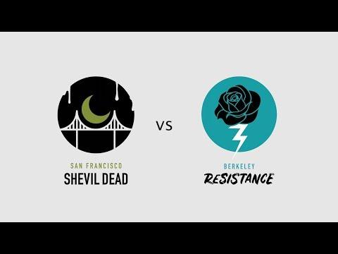 B.A.D. Season Opener: San Francisco ShEvil Dead vs. Berkeley Resistance // March 24, 2018