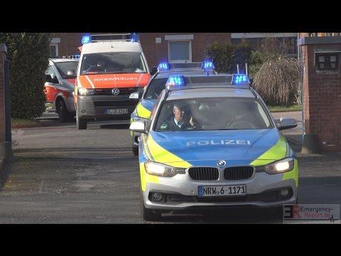 [SELTENE EINSATZFAHRT] - Task Force Hochinfektionstransport BF Düsseldorf - [LASSA-FIEBER]