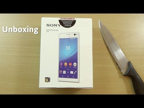 Sony Xperia C4 - Unboxing & First Look!