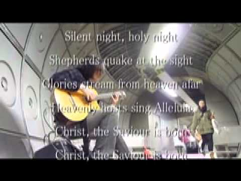 Silent night solo guitar youtube for Domon waterloo