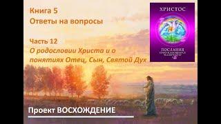 Учитель Христос. Ответы на вопросы. Часть 12. О родословии Христа и о понятиях Отец, Сын, Святой Дух