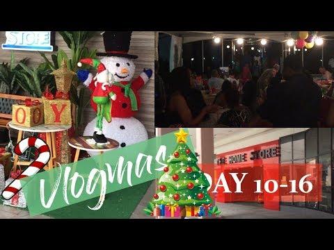 Vlogmas Day 10,12 16  Last Night of Concert, Isaac 981 Radio Christmas Shopping