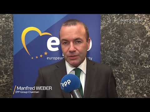 EPP Group Chairman Manfred Weber replies to Max Niederhofer