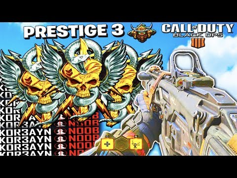 ENTERING PRESTIGE 3 // TOP RANKED COD PLAYER // MULTIPLAYER + TIPS // CALL OF DUTY: BLACK OPS 4
