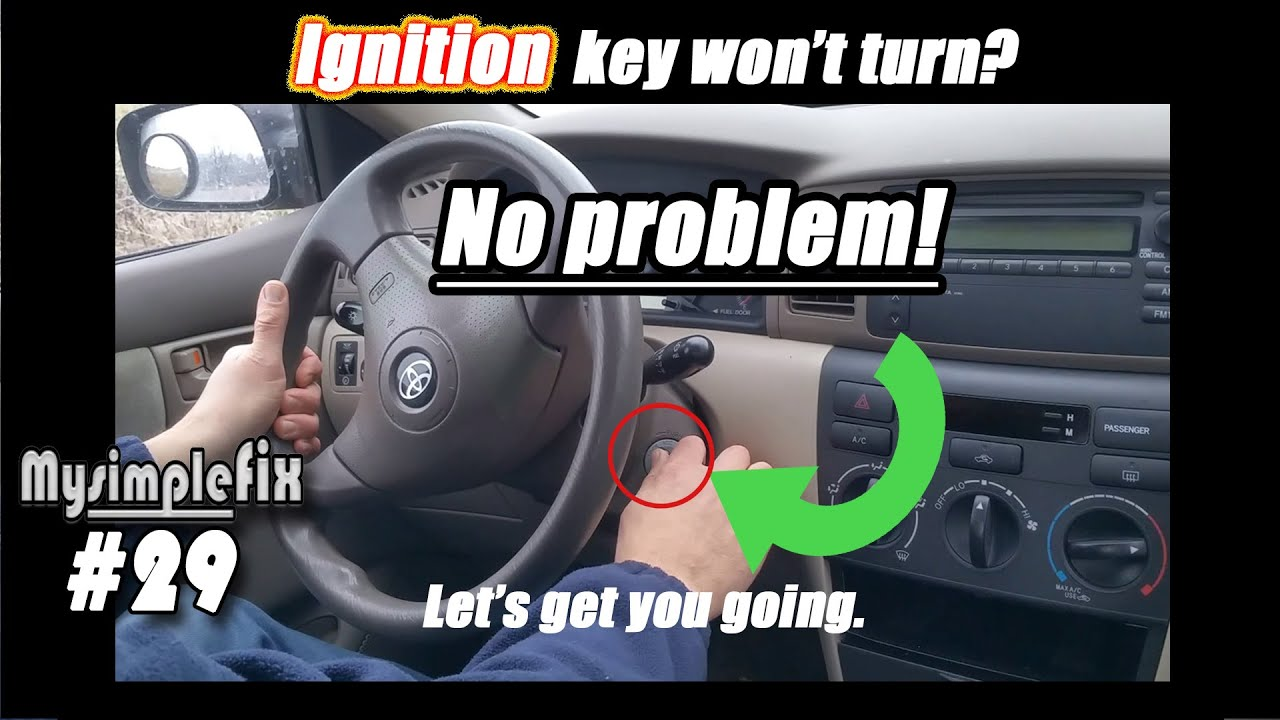 Solution For Ignition Key Wont Turn Stuck Most Vehicles That Use A Chrysler 300 Front Fuse Box
