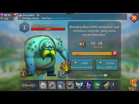 Monster Hunting Trick | Lord Mobile Monster | Tidal Titan And Terothon