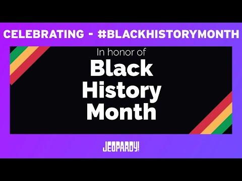 Black History Month | JEOPARDY!