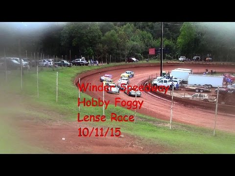 Winder Barrow Speedway Hobby Feature Race 10/11/15