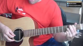This is the GuitarMadeEZ.com Nazareth Fallen Angel Guitar Tutorial....