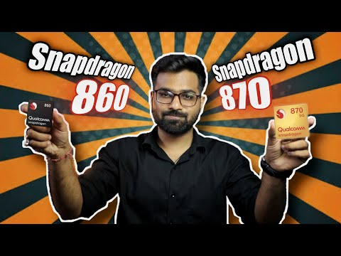 Snapdragon 860 vs Snapdragon 870 - Specifications and Benchmarks [ SD 860 vs SD 870 ]