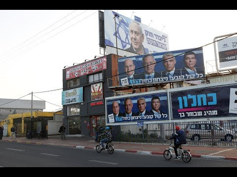 Netanyahu faces tough political battle in competitive Israeli election