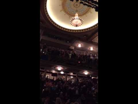 Inside view of the Richard Rodgers Theatre