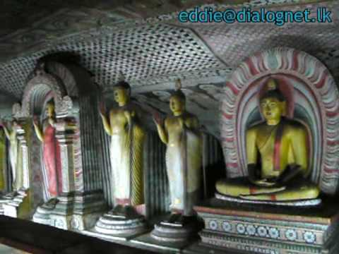 World heritage sites in Sri Lanka – Dambulla –