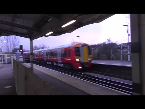 Trains at New Cross Gate, East Croydon & Purley 14/04/16 - Part 2