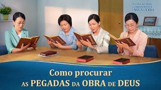"""Filme evangélico """"Do trono flui a água da vida"""" Trecho 1 – Como procurar as pegadas da obra de Deus"""