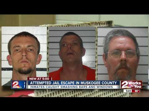 Attempted jail escape in Muskogee County