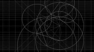 Пятиугольник HD(На чёрном фоне рисуются линии и окружности, образуя пятиугольник., 2013-09-29T11:28:54.000Z)