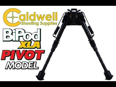 "CALDWELL XLA 6-9/"" BIPOD FIXED"