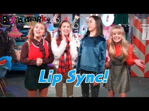 Holiday Lip Sync feat. Baby Ariel | Bizaardvark | Disney Channel