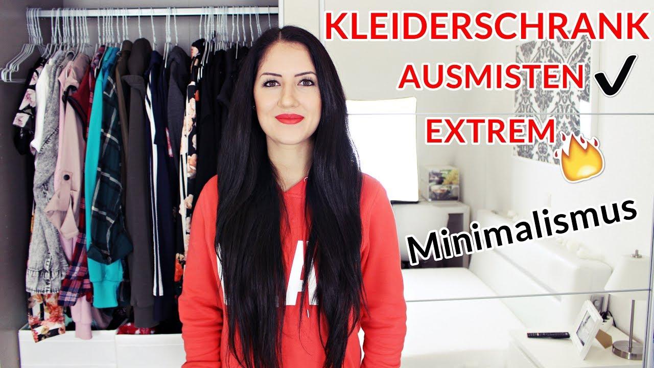 Kleiderschrank radikal ausmisten minimalismus next for Minimalismus extrem