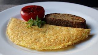Parmelet - Crisp Parmesan Omelet - Easy Cheesy Inside-Out Om...