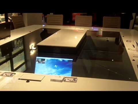 ISE 2015: Quarta Introduces Table Concept for Meetings