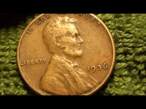 Love finding those WHEAT PENNIES, 1936