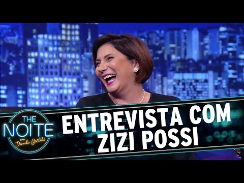 The Noite (09/11/15) - Entrevista com Zizi Possi