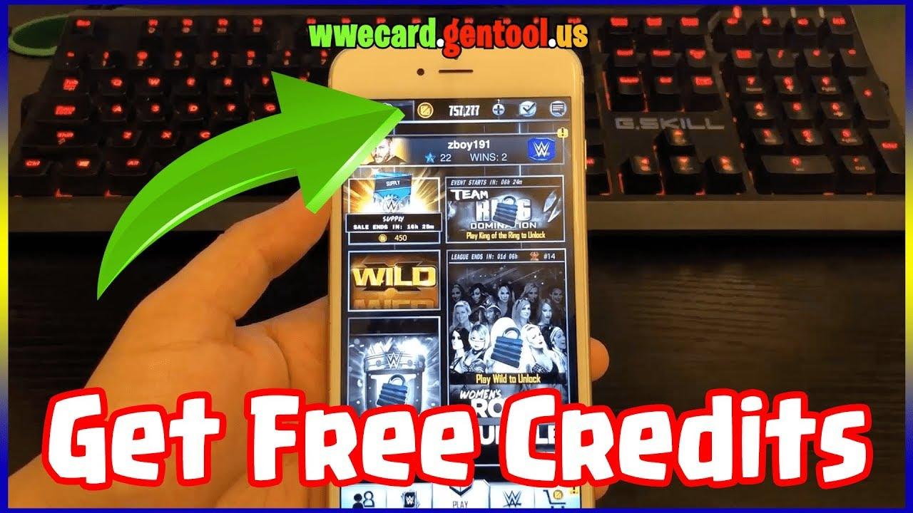 WWE SUPERCARD Hack Credits on iOS/Android FREE! Latest