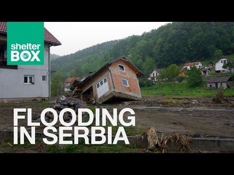 ShelterBox: Flooding in the Balkans