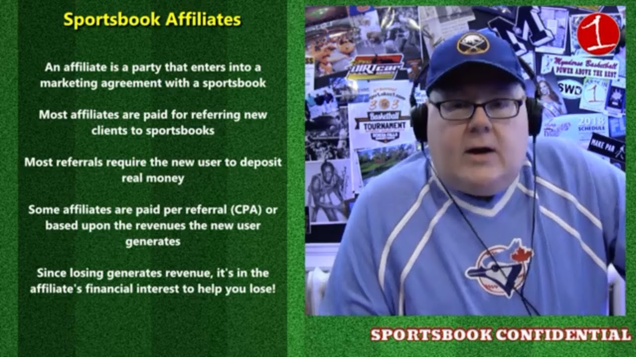 SPORTSBOOK CONFIDENTIAL: What is a Sportsbook Affiliate? (podcast)