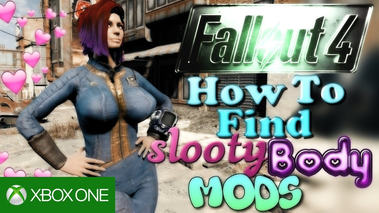 Fallout 4 XB1 - How To Find SLOOTY Mods + Link Your Xbox One Account  *OUTDATED*