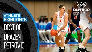Dražen Petrović - Top 10 Plays at the Olympics | Athlete Highlights