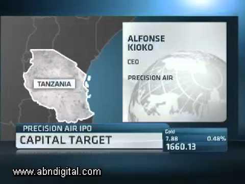 Precision Air Lists on Dar es Salaam Stock Exchange