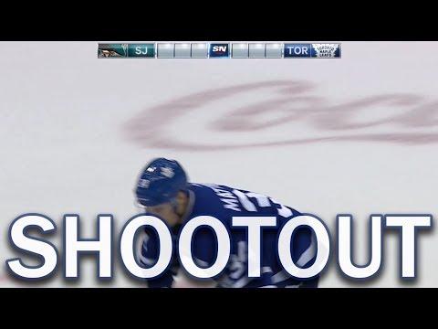 (Full Shootout) San Jose Sharks at Toronto Maple Leafs - 1/04/18
